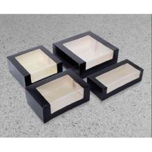 Seitenfensterkarton 1teilig 240x160x90mm Uni schwarz u. Dispersionslack Motiv 95 Produktbild