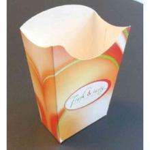 Pommes-Faltbox 80 mm x 40 mm x 125 mm Fresh & tasty Produktbild