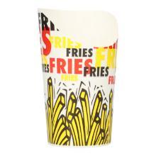 Wrapbecher GSP55 Snack u.Fries 221,8ml mit PE Beschichtung Produktbild