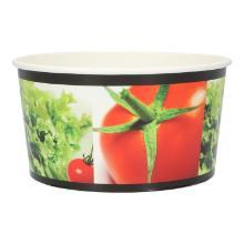 Salat-to-go Schale rund 1000 ml Ø 151 mm x 82 mm Papier weiss Produktbild