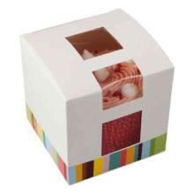 Cup Cake Box 1er 8x8x8cm Produktbild
