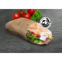 Sandwichverpackung mezziCano large 303 x 210 mm braun Produktbild
