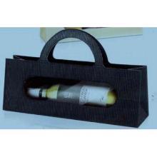 Flaschentasche 9 cm x 36 cm x 13,2 Style Anthrazit offene Welle Produktbild
