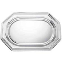 Platte octagonal 46x31cm silber 365 C u.C Produktbild
