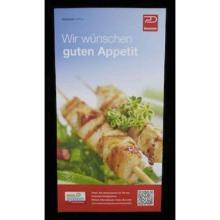 Dussmann-Flyer für Steh-/Wandspender Produktbild