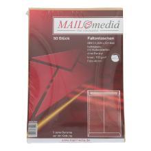 MAILmedia Faltentasche DIN C4 braun Produktbild