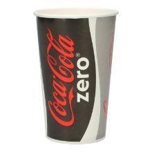 Coca-Cola Pappbecher 400ml Produktbild