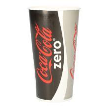 Coca-Cola Pappbecher 500ml Produktbild