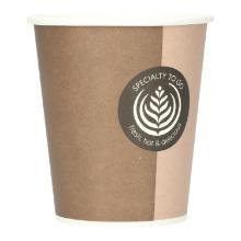 Kaffeebecher Pappe 200ml/8oz Coffee-to-go Produktbild