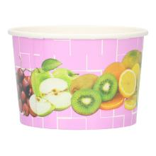 Eisbecher Pappe 175ml Fruechtemotiv Produktbild