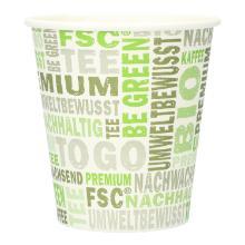 Kaffeebecher Pappe 250ml/10oz PLA PrimeSource BeGreen FSC Mix Credit Produktbild