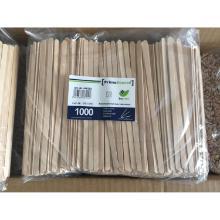 Ruehrstaebchen Holz 140x5x1mm PrimeSource BeGreen Produktbild