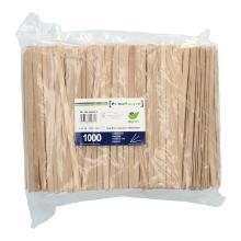 Holz-Rührstäbchen 140x5x1mm PrimeSource BeGreen FSC 100% Produktbild