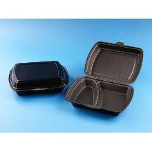 Menue-Box 2-get. 240x195x72mm schwarz Produktbild