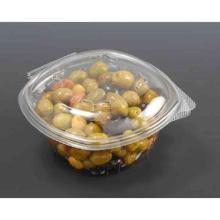 Salatbox oval 500ml m. anh. DE u. abgeschrägter Ecke Produktbild