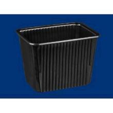 PP-Schale 180 mm x 133 mm x 129 mm schwarz 2000 ml Produktbild