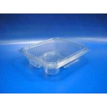 Showcase-Behälter PET 220mm x 190mm x 80mm transparent 1050 ml Deckel + Dressin Produktbild