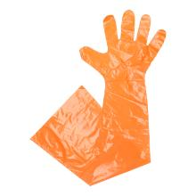 Handschuhe 90cm Softfolie orange Produktbild