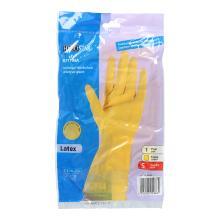 Haushalts-Handschuhe gelb Gr.S Uni-Grip (1 Paar/Beutel) Produktbild