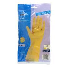 Haushalts-Handschuhe gelb Gr.L Uni-Grip Produktbild