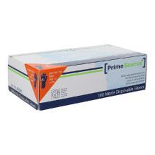 Nitril-Handschuhe Gr.XL ungepu.blau PrimeSource Produktbild