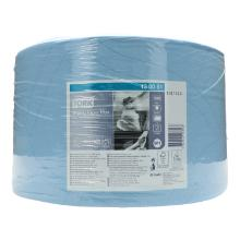 Putztuchrolle 2-lagig 24 cm x 34 cm W1 blau 130051 Tork Produktbild