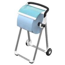 Bodenständer Reinigungstuch Perf W1 weiß/türkis 652000 Tork Produktbild