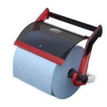 Wandhalter Reinigungstuch Performance W1 rot/schwarz 652108 Tork Produktbild