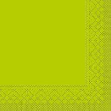 Serviette Airlaid 40 cm x 40 cm 1/4 Falz kiwi 51201 Produktbild