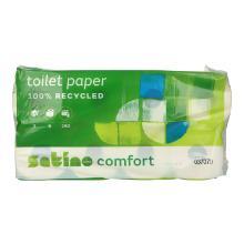 Toilettenpapier 3-lagig 9,5 cm x 13,8 cm 250 Blatt Produktbild