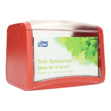 Tischspender Xpressnap rot 272612 N4 272612 Tork Produktbild