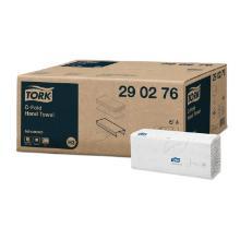 Falthandtücher 25 cm x 50 cm weiß 2-lagig 290276 Tork Advanced Produktbild