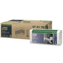 Reinigungstücher Küche W4 43 cm x 35 cm weiß 473178 Tork Produktbild