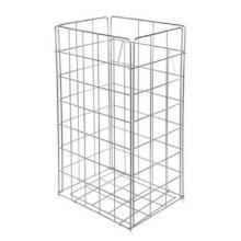 Gitterkorb Edelstahl 54 Liter silber Produktbild