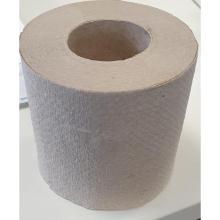 Toilettenpapier 1-lagig Krepp 9cm x 11,7cm natur 400 Blatt Produktbild