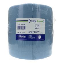 Putztuchrolle 3-lagig 38 cm x 34 cm 1000 Abrisse blau PrimeSourceLänge: 340m Produktbild