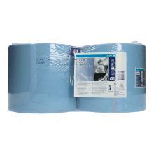 Putztuchrolle 2-lagig 24 cm x 34 cm 255m W1, W2 blau 130052 Tork Produktbild