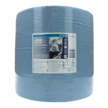 Putztuchrolle 2-lagig 37 cm x 34 cm 510m W1 blau 130050 Tork Produktbild