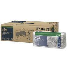 Vliesstofftuch 35,5 cm x 43 cm 1-lagig weiß W4 570478 Tork Produktbild