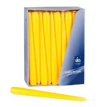 Spitzkerze Brenndauer 8Std gelb Produktbild