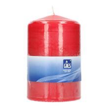 Stumpenkerze 120 mm x 78 mm rot Brenndauer 50 Std Produktbild