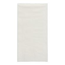 Serviette 33 cm x 33 cm 2-lagig 1/8 Kopffalz weiß Produktbild