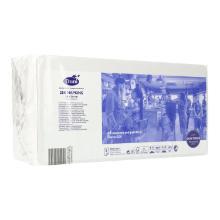 Serviette 36 cm x 36 cm 3-lagig 1/8 Falz weiß Produktbild