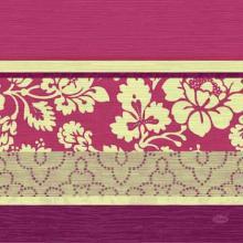 Serviette 33 cm x 33 cm Amira bordeaux Produktbild
