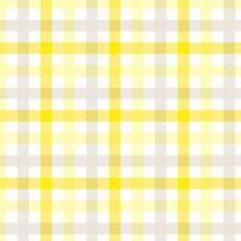 Serviette Dunilin 40 cm x 40 cm Check yellow Produktbild