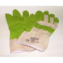 Arbeitshandschuh grün Spaltleder XL Produktbild