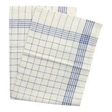 Geschirrtuch 50 cm x 70 cm blau/weiß Baumwolle Produktbild