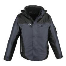 Padding-Jacke Top Level anthrazit-schwarz Größe XXL Produktbild