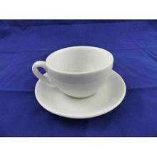 Kombipaket aus Cappuccinotasse klein (weiß) TTMIB01/Untertasse(weiß) PTMIB01 Produktbild