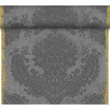 Tischläufer Dunicel Tete a Tete 40 cm x 24 m Royale granite grey Produktbild